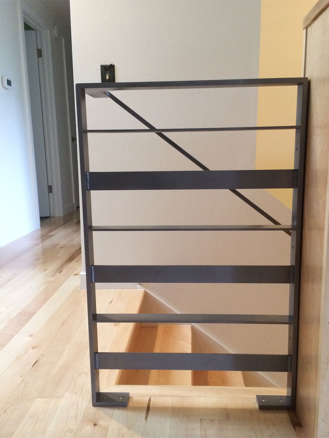 Interior Modern Railing by Blackbird Iron - Seattle, WA