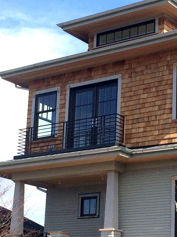 Iron Balcony Railing Detail Gorgeous: Blackbird Iron & Design