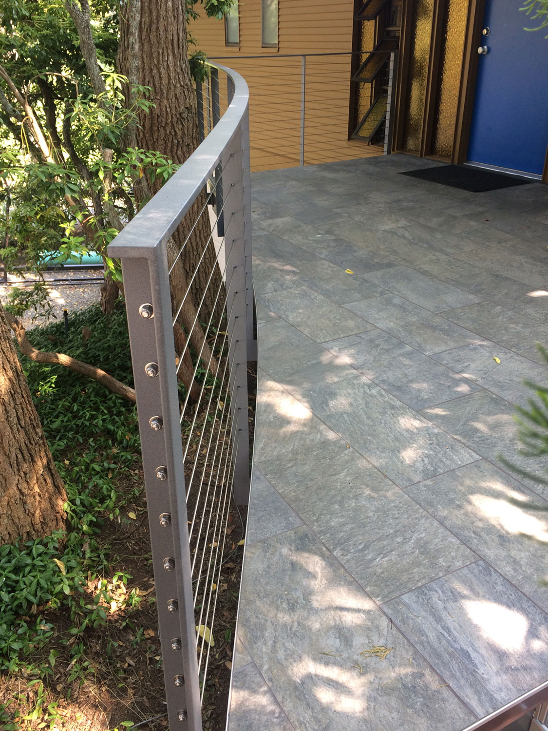 Cable Rail for Front Deck - Entrance - Seattle, WA