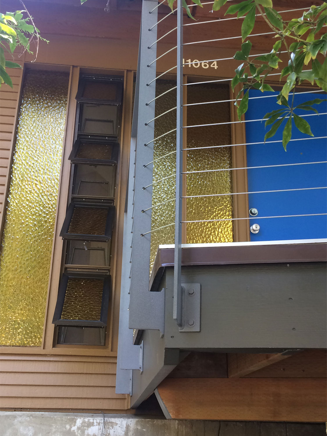 Cable Rail for Front Deck - Securely Mounted - Seattle, WA