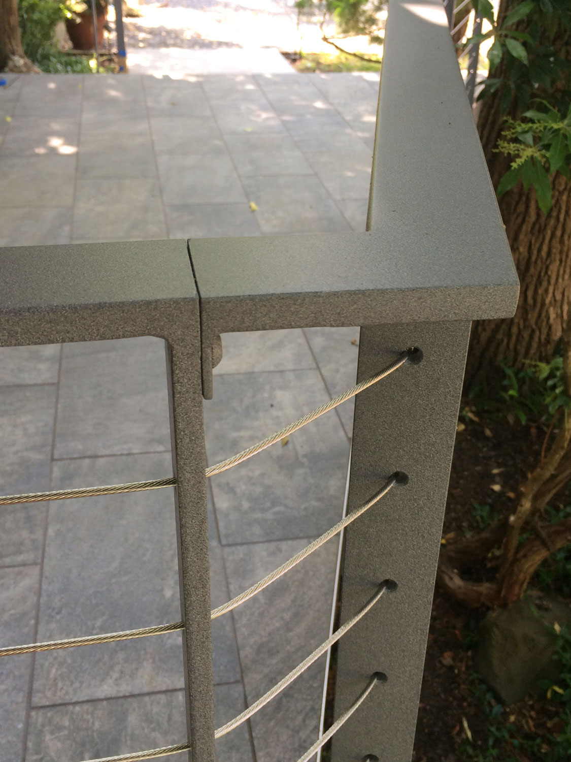 Cable Rail for Front Deck - Around the Corners - Seattle, WA