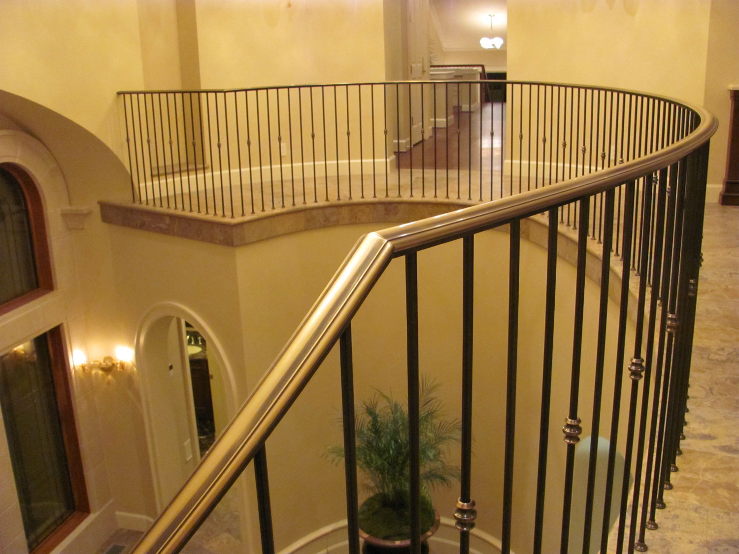 Elegant Pitch and Curved Railing - Guardrails - Seattle, WA