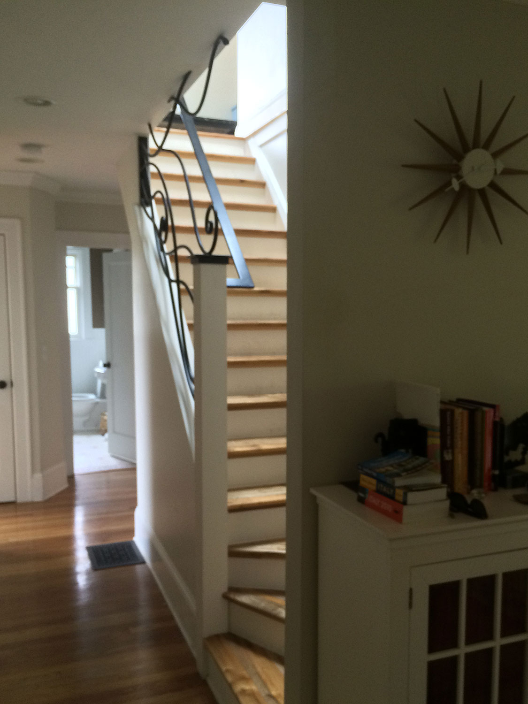 Ornamental Staircase Railings Long Shot - Seattle, WA