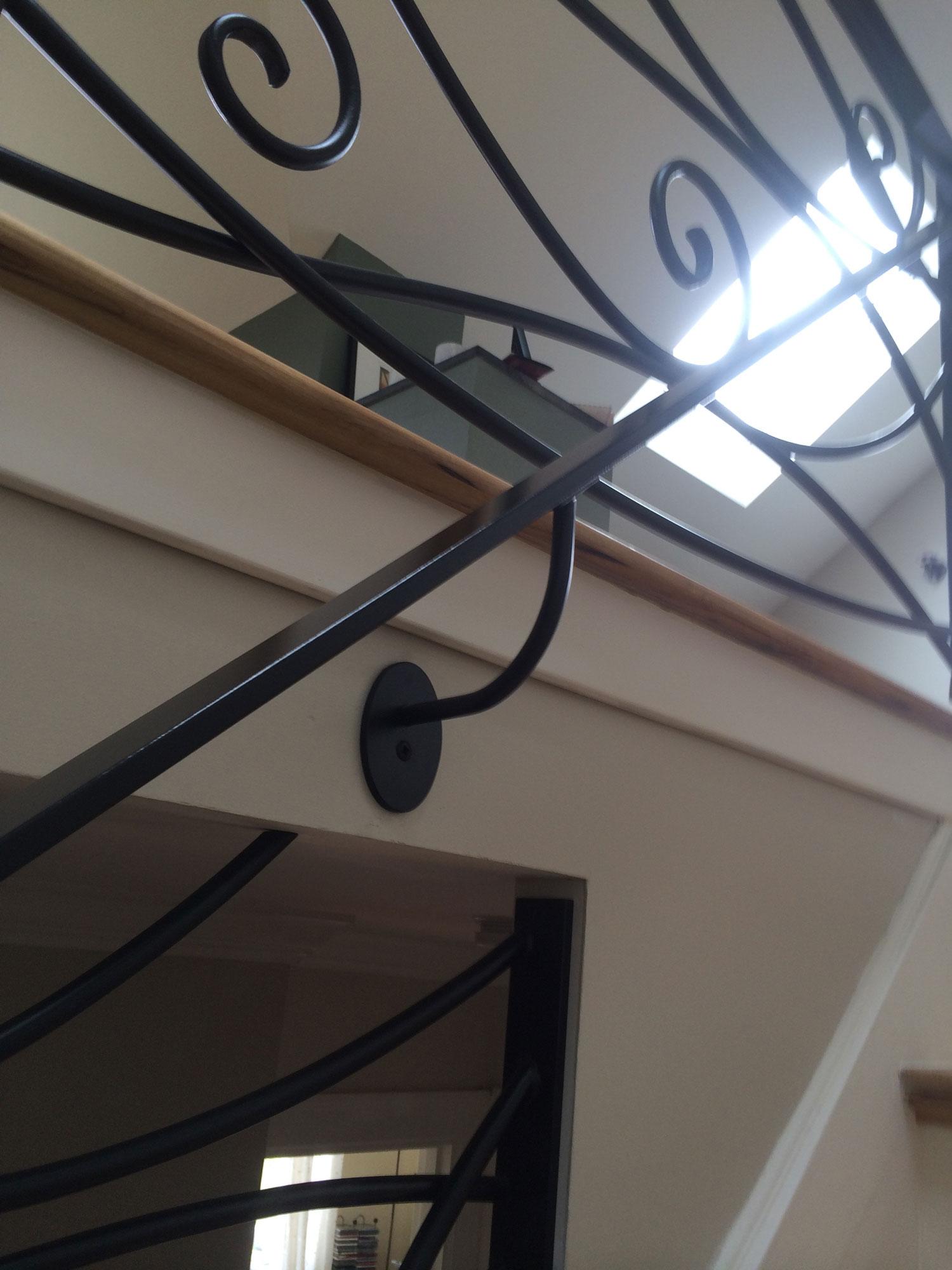 Ornamental Staircase Railings - Handrail Mounting - Seattle, WA