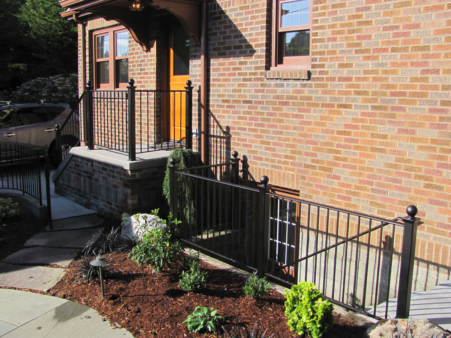 Handrail and Guardrail for Back Entrance and Basement - Seattle, WA