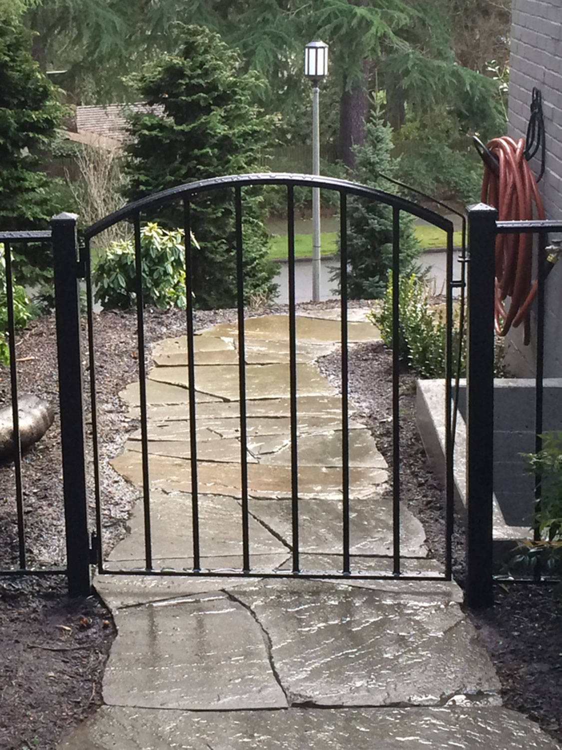 Iron Gate and Fence - Featured Image