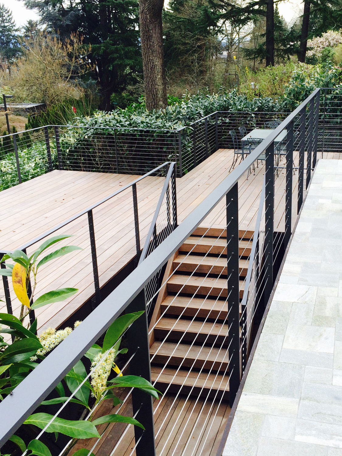 Cable Rail for Large Deck - Featured Image - Seattle, WA